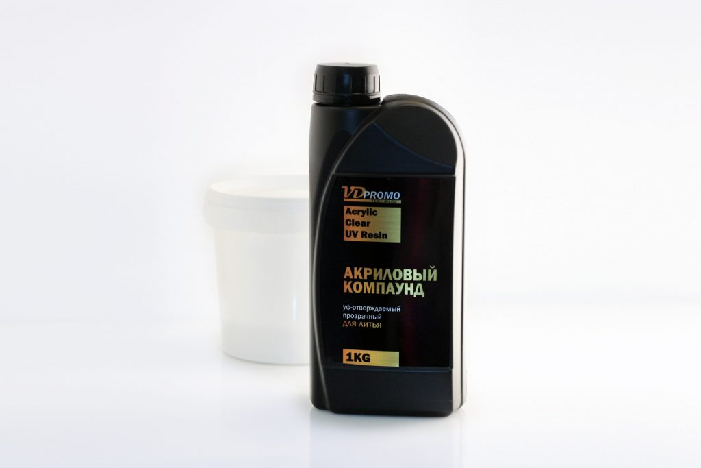 Прозрачная акриловая смола для литья